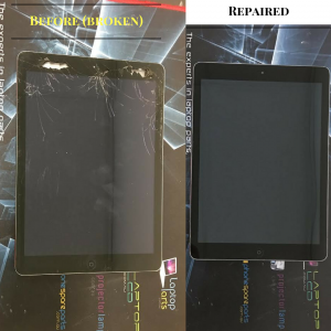 ipad air broken screen repaired sydney