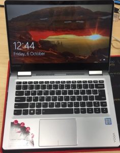 Lenovo Yoga 710-14isk repaired screen image