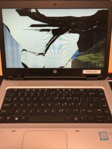 Probook 640 G2 damaged screen replacement